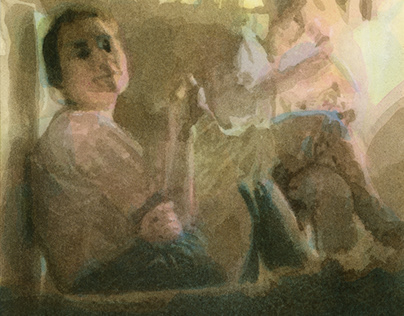 Friends (Watercolor)