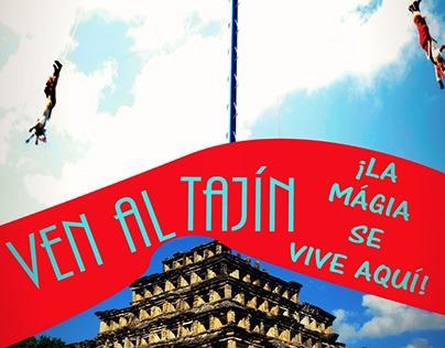 PROTOTIPO de Cartel publicitario para Tajín