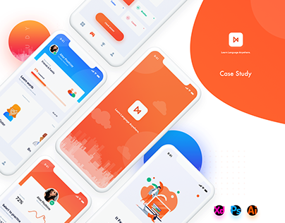 Learn Language Concept App.