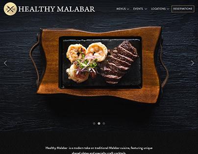 Healthy Malabar   Webpage Design