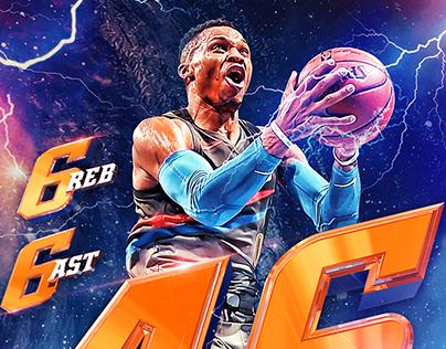 NBA Illustrations III - 2018