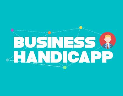 Business Handicapp caso para ayuda a discapacitados
