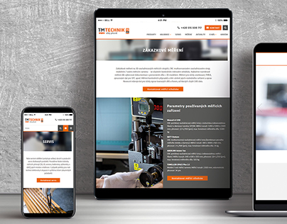 TM TECHNIK: website and branding