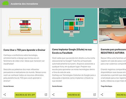 WebApp Academia dos Inovadores
