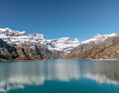 Lac d'Emosson, Valais, Switzerland