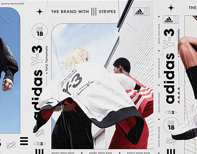 Adidas Y-3 Lookbook | Editorial Concept