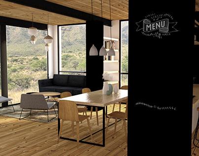 Diseño interior de vivienda en El Suyuque