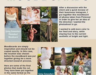 Social Media Content Design - Clothing Brand
