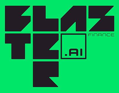 Brand & Visual Identity Design for Blaster.ai