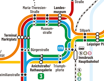 Innsbruck's Trains and Tramways II