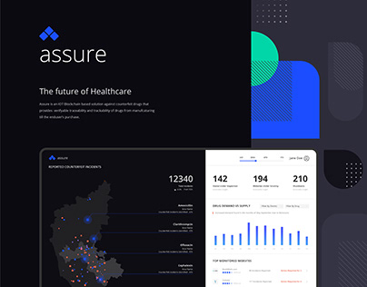 Assure- IOT Blockchain solution for Counterfeit Drugs