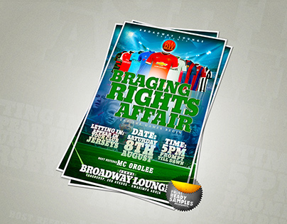 Event Poster [Braging Rights Affair]