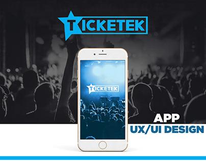 Ticketek - UX/UI Design