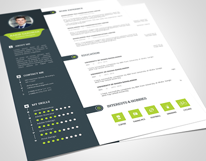 Clean Resume Template Download
