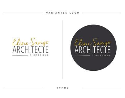 Logotype and indentity architect designer