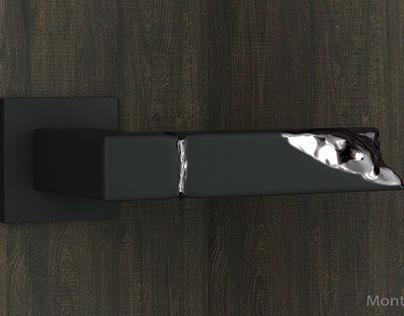 Montagna - door handle concept