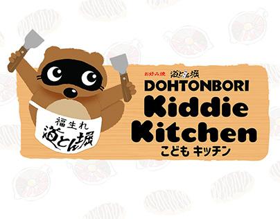 Dohtonbori Phils. Kiddie Kitchen Branding and Identity