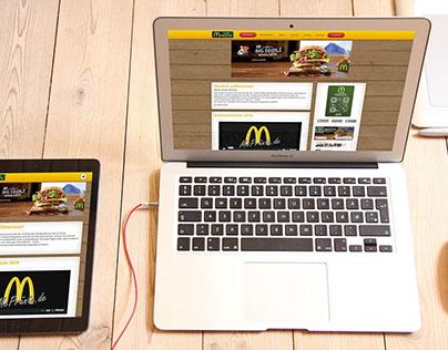 McDonalds TeamPrünte