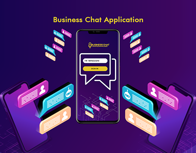 Business Chat Application