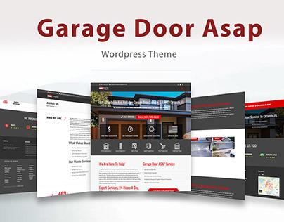 GarageDoorASAPService.com - UI/UX Developement