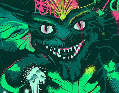 Alternative Movie Poster - Gremlins: Traditional
