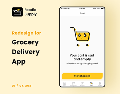 Grocery Delivery App | Foodie Supply
