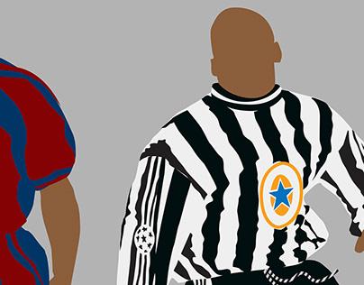 True Faith - Newcastle United prints.
