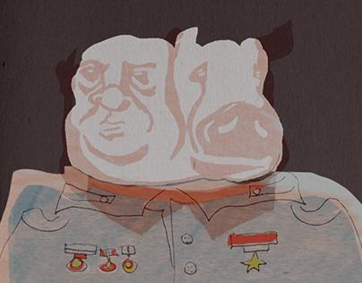 """Animal Farm"" - Illustrations"