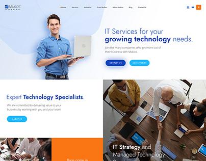 Makios Website