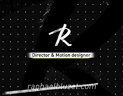 REEL DIRECTOR & MOTION DESIGNER