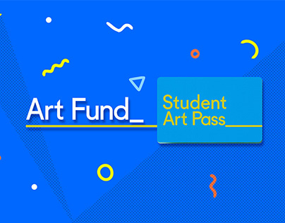 Art Fund - Student Pass Campaign