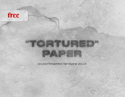 """Tortured"" paper. Free texture pack"