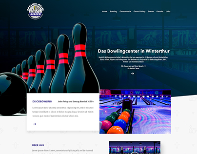Bowling Alley - Website Swiss