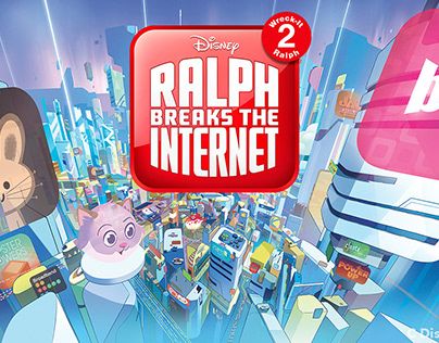 RALPH BREAKS THE INTERNET - Disney Publishing Art