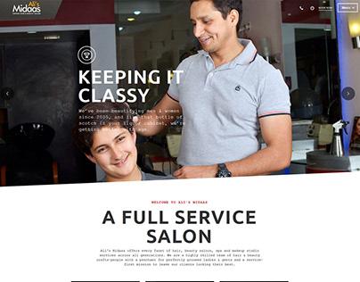 Website Design - Ali's Midaas