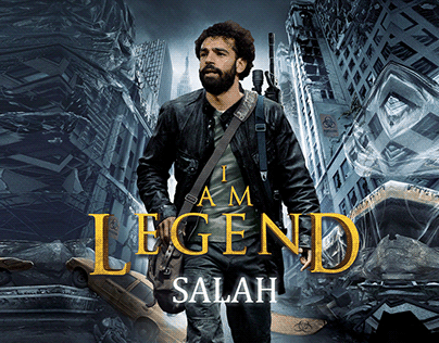 I am Legend Football Players Social Media Design
