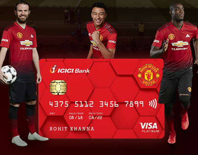 ICICI Bank - Manchester United Credit Card
