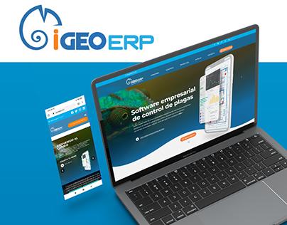 Diseño Website - iGEOERP