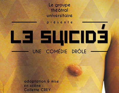Le Suicidé // Affiche // 2015
