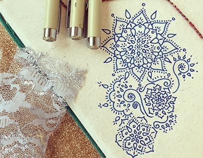 Mandala Motif Sketches
