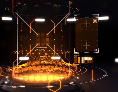 Holo Portal - Fantasy UI