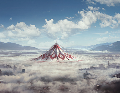 The Circus - Day to Night / Digital Matte Painting