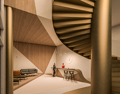 Design and render collection -Public spaces- _013