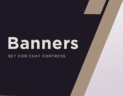 Facebook banners set
