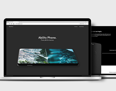 ABILITY PHONE - Web Design/Coding