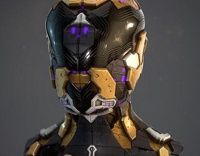 Sci-Fi Helmets | Procedural