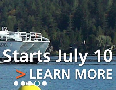 Kitsap Transit Homepage Refresh