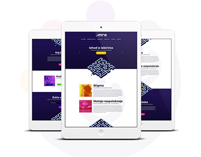OMRA - Website design