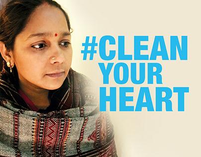 #CleanYourHeart