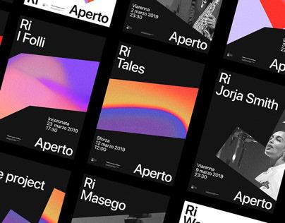 RiAperto festival - Branding